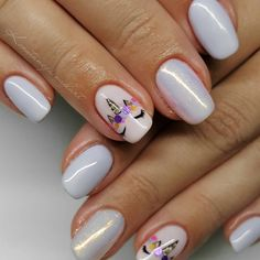 Image result for unicorn nail art