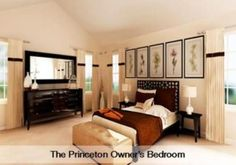 Princeton owner's bedroom by Lennar