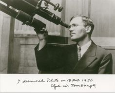 UFO SIGHTINGS DAILY: Lets Celebrate Clyde Tombaugh, Who Discovered Plut...