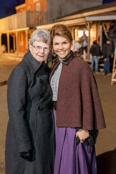 Janette oke with Lori loughlin