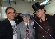 Tony, George Skeggs and Anne Pigalle. http://www.annepigalle.com/