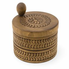 Wooden box Round wooden box Wood box Jewelry box Ring box  Wedding gifts Wooden boxes  Jewellery box Wood carving schatulle Wood boxes by WoodCarvingStore on Etsy