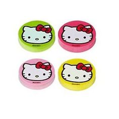 Hello Kitty Pink Balloon Dreams Erasers (1 dz) by Amscan. $4.10. Standard Sized Erasers.. 1 Dozen Hello Kitty Pink Balloon Dreams Erasers.. Assorted Colors.. 1 Inch in diameter and 1/4 inch thick.. Every Hello Kitty fan is sure to love these Hello Kitty Pink Balloon Dreams Erasers! Place in goody bags as a fun party favor or hand out as fun treats at any school birthday party!