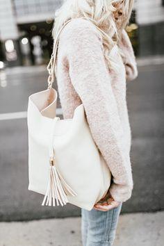 GiGi New York   Brit Andrus Fashion Blog   Ivory Colette Hobo