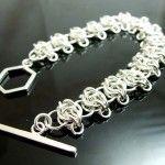 Sterling silver Celtic Visions bracelet