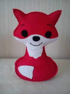 Hey, I found this really awesome Etsy listing at https://www.etsy.com/listing/204089498/felt-fox CE tested fox for mini me or scarlett