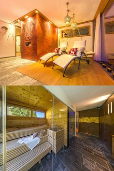 Exclusive and luxurious apartments in the alpinlodge & spa in Samnaun Switzerland in the Ski Resort Silvretta Arena. Luxury and panoramic views Spa Spa, Wellness Spa, Luxury Spa, Sauna, Apartment Design, Luxury Lifestyle, Contemporary Design, Vacations, Relax
