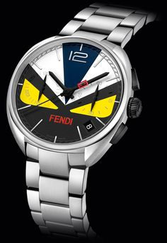 Fendi Bag Bugs Now Have A Wrist Companion With Momento Fendi Bugs Watches ...see more styles & more about them in Ariel's piece over at Forbes, then check out some furry (yes, furry), boundary-pushing Fendi watches we wrote about here: http://www.ablogtowatch.com/fendi-luxury-ladies-watch-colorful-furry/