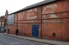 Large ghost sign on Merrion Street, Leeds Leeds City, Haunting Photos, Industrial Architecture, Vintage Signs, Yorkshire, Old Photos, Signage, Free Printable