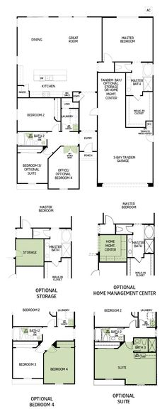 Woodside Homes Floor Plans oak plan 5025 model - 4 bedroom 3 bath new home in marysville, ca