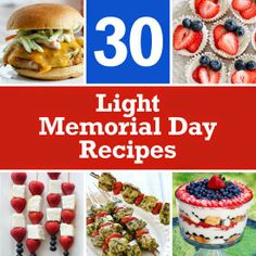 30 Light Memorial Day Recipes | Skinnytaste