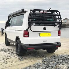 Vw T5, Transporteur T5, Vw Transporter Campervan, Vw Transporter Conversions, Vw Syncro, T3 Vw, Bike Storage In Van, T5 Tuning, Vw California T6