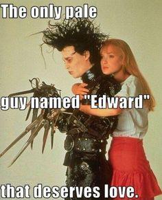 <3 Edward Scissorhands