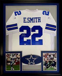 Emmitt Smith Framed Jersey Signed PSA/DNA COA Autographed Dallas Cowboys Mister Mancave http://www.amazon.com/dp/B00XUJ1DIQ/ref=cm_sw_r_pi_dp_r1-rwb09DR8JX