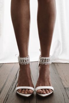 Designed for the fashion forward woman who is effortless and chic, the Tribe anklets makes an unforgettable statement. Boho Wedding Shoes, Wedding Boots, Wedding Dresses, Lace Wedding, Wedding Sandals For Bride, Summer Wedding, Best Bridal Shoes, Wedding Music, Burgundy Wedding