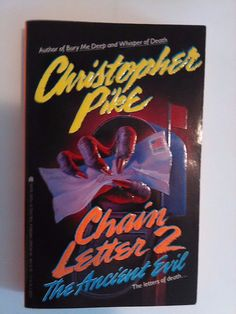 The Ancient Evil Chain Letter 2 by Christopher Pike paperback 1992