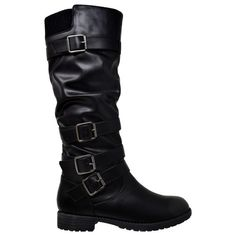 Step out in style this season with these fabulous knee high boots. Features side zipper closure, multi adjustable straps and ruched detailing. Made out of soft faux leather, vegan. Over The Knee Boot Outfit, Toe Length, Stylish Boots, Frye Boots, Suede Boots, Boots For Sale, Club Outfits, Fall Outfits, High Heel Boots