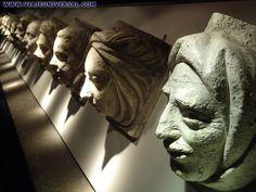 Palais Jacques Coeur, Bourges, salle des masques