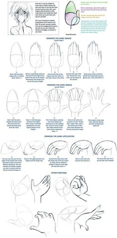 Drawing Hands Tutorial By Vashs Angel On DeviantART This Is A Neat That Shows How To Draw Realistic Looking For Your Characters