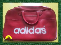 3802bfe443 Original ADIDAS Red Footed Gym Bag