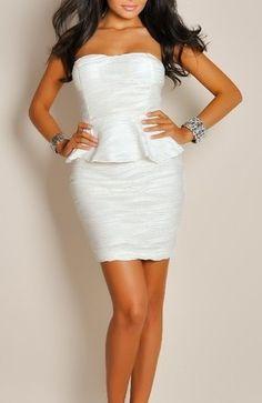 8f8c94e7d192a 18 Best White Party Dress images