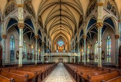 The Cathedral of St. John the Baptist in Savannah, GA