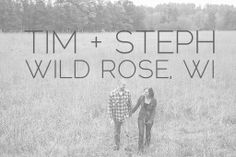 Steph + Tim are in Love :: Wild Rose Engagement - Alison Kundratic Photography