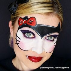 Cameron does it again! Creative, original, inspirational! We just love this girl! Watch her channel at www.fabatv.com! #sillyfarm #faceartist #faceartists #facepainter #facepainters #facepainting #makeartistry #makeupartists