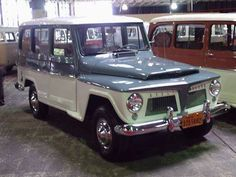 4X4 WILLYS (RURAL), MADE IN BRAZIL, YEARS 60