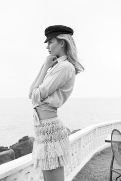 Karlie Kloss for Paris Match, August 2015Photographed by Pamela Hanson