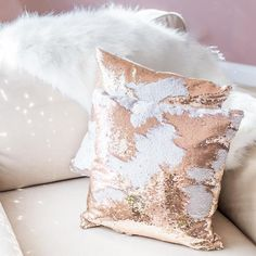 - Already filled, Fluffy pillow - You don't have to worry about buying an insert for this pillow. This pillow comes already stuffed and is extra fluffy. - Reverse colors to suit your mood and the room