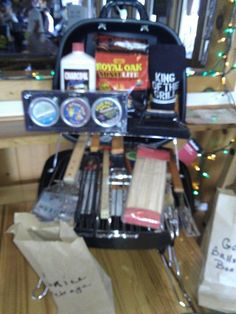 Ultimate tailgate grill raffle prize Raffle Prizes, Raffle Ideas, Stag And Doe Games, Adult Party Games, Jack And Jill, Gift Baskets, Fundraising Ideas, Party Ideas, Gift Ideas
