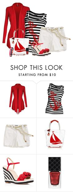 """13.06.2016"" by marie-iiii ❤ liked on Polyvore featuring Tommy Hilfiger, Milly, Kate Spade and Gucci"