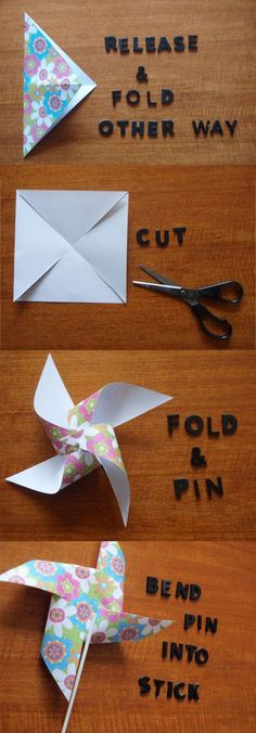 Dilly Foxtrot Investigates: NEW FEATURE.......DIY Party Decorations - Pinwheels This.