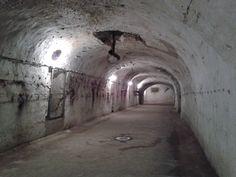 Sercet tunnels under Budapest