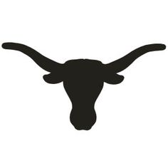 Shutterstock Images Free Download cowgirl | Taurus Bull Head Tattoo Silhouette Design | Just Free Image Download Skull Silhouette, Animal Silhouette, Silhouette Design, Cowgirl Party, Bull Skulls, Cow Skull, Longhorn Tattoo, Longhorn Cow, Cowboy Art