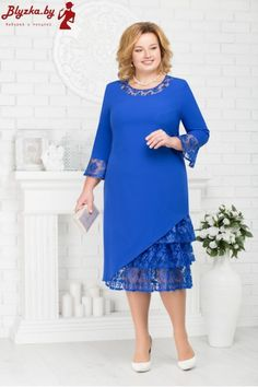 Image may contain: 1 person, standing Elegant Dresses, Pretty Dresses, Beautiful Dresses, Casual Dresses, Short Dresses, Mothers Dresses, Mother Of Groom Dresses, Lace Dress Styles, Plus Size Gowns