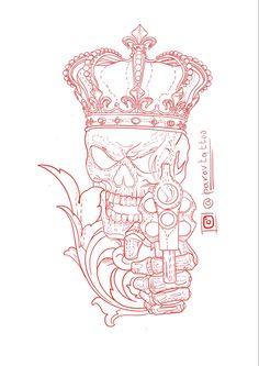 Sketch Tattoo Design, Skull Tattoo Design, Tattoo Sleeve Designs, Tattoo Designs Men, Sleeve Tattoos, Lion Head Tattoos, Bull Tattoos, Body Art Tattoos, Dark Art Tattoo