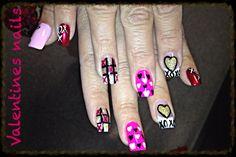Valentines acrylics with Tina