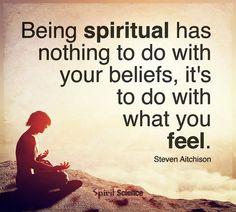 being spiritual