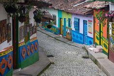 Village de Guatapé en Colombie Le Village, Road Trip, Blog Voyage, Kenya, Photos, Nature, Travel, Souffle, Voici