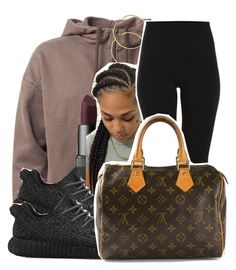 A fashion look from January 2016 featuring brown hoodies, slim trousers and Louis Vuitton. Browse and shop related looks. Swag Outfits For Girls, Dope Outfits, Urban Outfits, Casual Outfits, Dope Fashion, Fashion Killa, Daily Fashion, How To Become Beautiful, Melissa Odabash