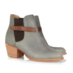boots, Durham Leather Ankle Boots by Rag & Bone