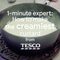 No crumble or sponge pudding is complete without a spoonful of fresh custard, and now you can master how to make it from scratch with this easy video guide. Thanks to a few handy tips and simple method, you'll be making perfectly smooth and creamy custard Baked Custard Recipe, Custard Recipes, Pudding Recipes, Cream Recipes, Custard Sauce, Vanilla Custard, How To Make Pudding, How To Make Custard, Magic Custard Cake