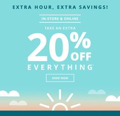 Payless: 20% off