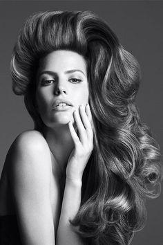 Va-va-voom hair, courtesy of Kerastase