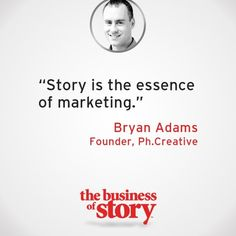 Story is the essence of marketing