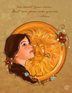 Lucy Pevensie Fan art from The Voyage of the Dawn Treader