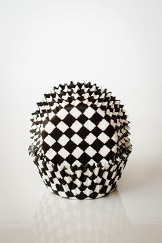 Black and White Checkered Cupcake Liners Perfect for Race Car LIghtning McQueen Party. $3.00, via Etsy.