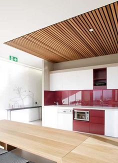 4 Enticing Tips AND Tricks: False Ceiling Design Led false ceiling hall crystal drop.False Ceiling Restaurant Living Rooms false ceiling design for porch.False Ceiling Design For Porch. House Design, Home Ceiling, Timber Ceiling, Kitchen Ceiling, False Ceiling Design, House Interior, Wood Slat Ceiling, Modern Ceiling, Ceiling Design Modern